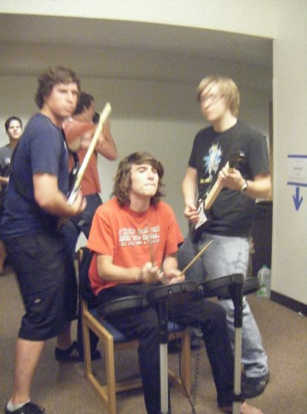 We eventually graduated to Rock Band