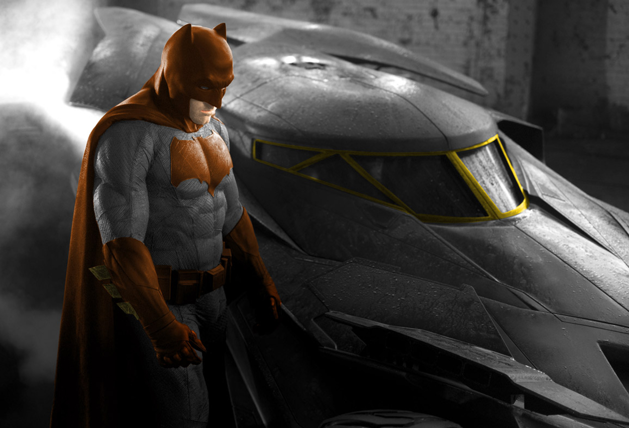 Ben Affleck Batman Suit Brown