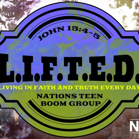 L.I.F.T.E.D. Bible Study Graphic