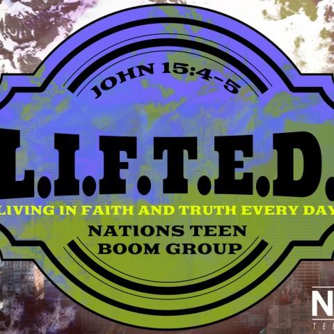 L.I.F.T.E.D. Bible Study Graphic