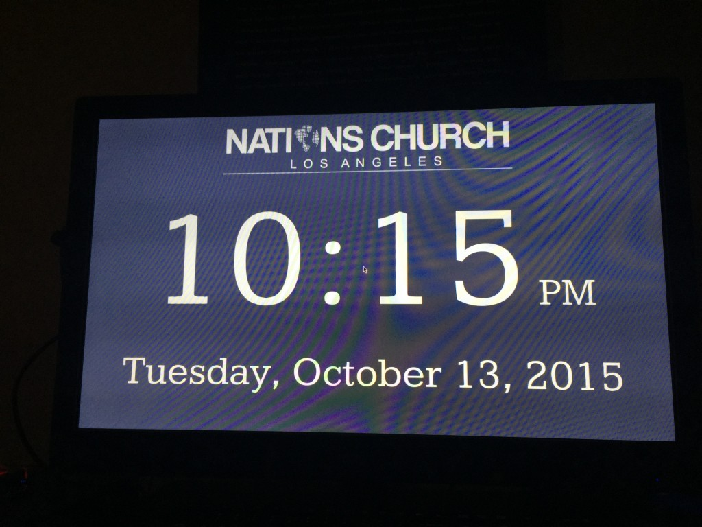 Cheap Digital Signage for Churches Using Raspberry Pi