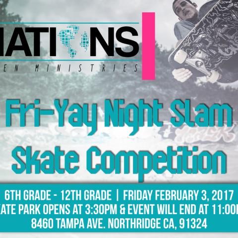 Fri-Yay Night Slam